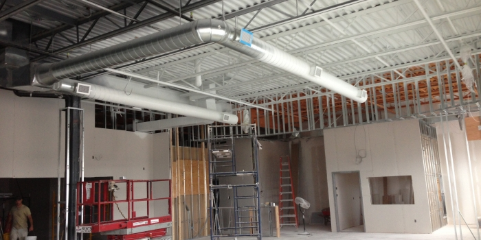 Anytime Fitness Gym Renovation