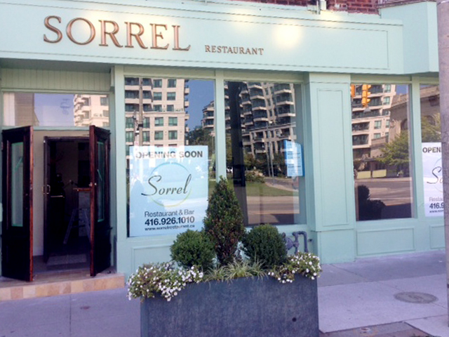 Sorrel Restaurant Renovation